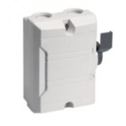 Säkerhetsbrytare plastkapslad BAS 2-polig 16 A