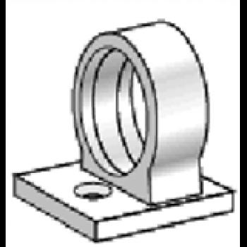 Railclips att skruva eller tejpa fast