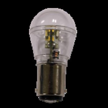 LED-lampa BAY15D 2-POLIG