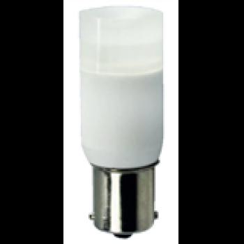 LED-lampa BAY15s.  2W. 95 Lumen. 1-polig