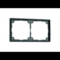 Distansram dubbel. 3 mm. Färg: svart.