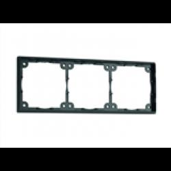 Distansram trippel. 3 mm. Färg: svart.