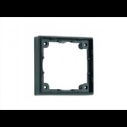 Distansram enkel. 12 mm. Färg: svart.