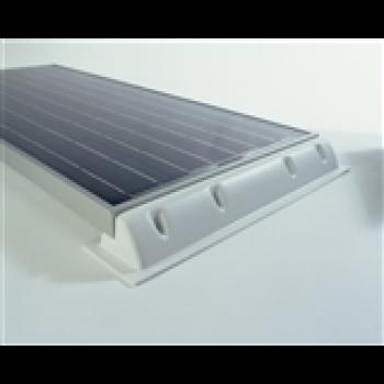 Monteringsspoiler till 130W solpaneler Solara (E30-02A). Lev i 2-pack. Bredd 68 cm.