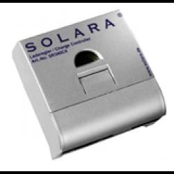Regulator SR170CX för 170Wp (10A) 12V med automatiskt överladdnings- och urladdningsskydd.