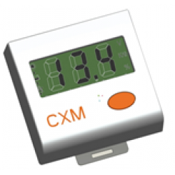 CXM-display solpanel