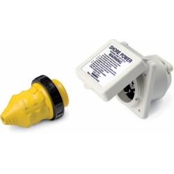 Valox landström kit, 2 + PE, 16 A / 230 V