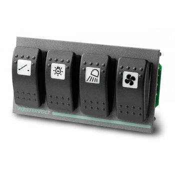 Switch Ingång 4 PCB