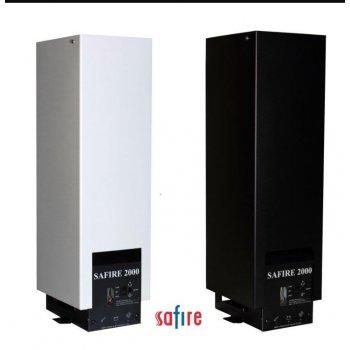 Safire 2000A SVART 12V Dieselkamin med GSM-styrning