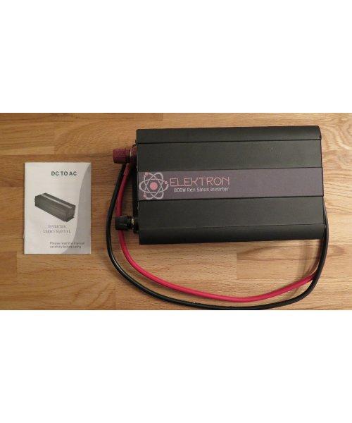 Elektron Inverter 12VDC/230VAC 1000W
