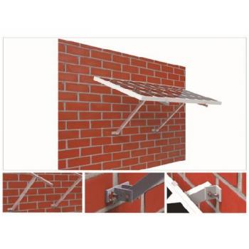Fästsystem för vägg