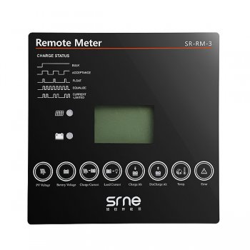 LCD till Srne SR-MT Regulatorer