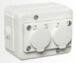 20W Multifunktionell 4 port USB Snabb Laddare Vit (US pluggar)